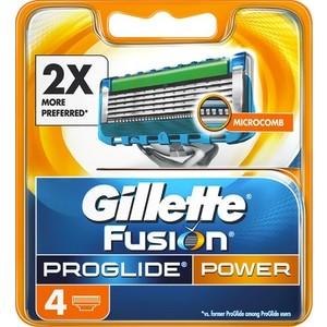 Gillette Fusion Proglide Power scheermesjes (4st.)