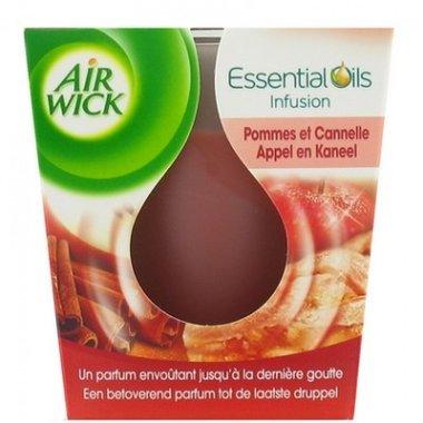 Airwick Geurkaars Essential Oils Appel en Kaneel 105 gr.