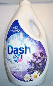 Dash 2in1 Vloeibaar Wasmiddel Lavendel 40 Wasbeurten