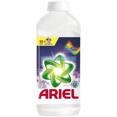 Ariel Wasmiddel Vloeibaar Actilift Color & Style 15 á 20 scoops