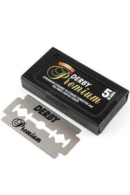 Derby Double Edge Premium Scheermesjes 5 stuks