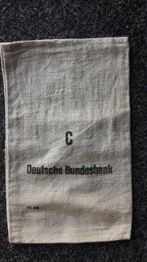 Orginel Linnen geldzakken van de Deutsche Bundesbank
