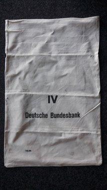 Orginel Linnen geldzakken voor Briefgeld van de Deutsche Bundesbank
