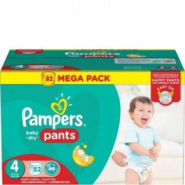 Pampers Baby-Dry Pants (Luierbroekjes) Maat 4