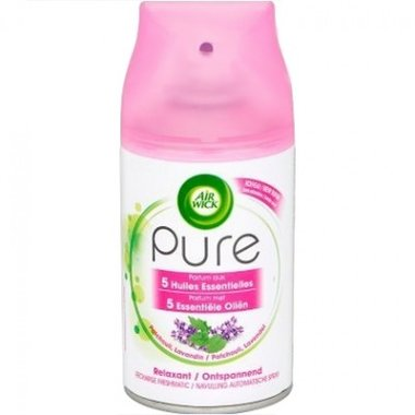 Airwick Freshmatic Max Pure Lavendel & Patchouli Navul 250 ml