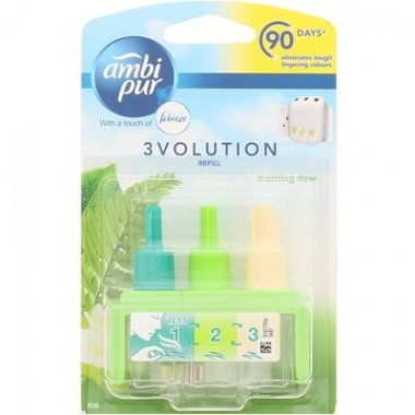 Ambi Pur 3Volution Navulling Morning Dew 20 ml