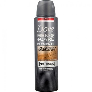 Dove Men+Care Deospray Talc Mineral & Sandalwood 150 ml