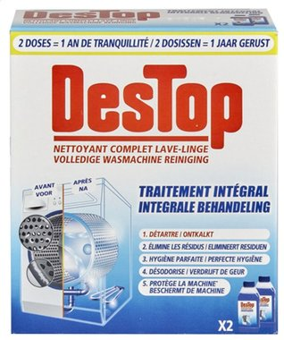 Destop Wasmachine Reiniger Integrale Behandeling 2 x 250 ml