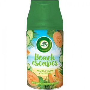 Airwick Freshmatic Max Beach Escapes Aruba Melon Cocktail Navul 250 ml