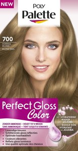 Schwarzkopf Poly Palette Perfect Gloss 700 Honing Blond Permanente Haarverf
