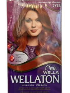 Wella Wellaton Crème Haarverf 7/74 Irish Red