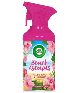AirWick Aerosol Beach Escapes Luchtverfrisser Malibu Beach & Hibiscus 250 ml