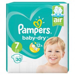 Pampers Baby Dry Maat 7 30 Luiers