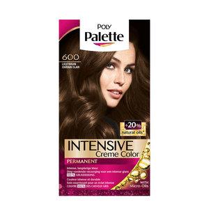 Schwarzkopf Poly Palette 600 Lichtbruin Permanente Haarverf