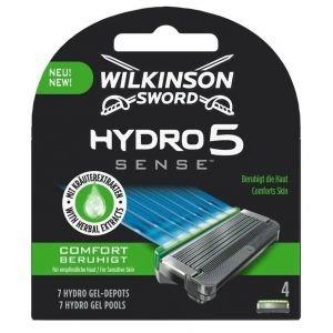 Wilkinson Hydro 5 Sense Comfort 4 stuks