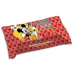 Vochtige Doekjes Mickey and Friends (Reinigingsdoekjes) 72 stuks
