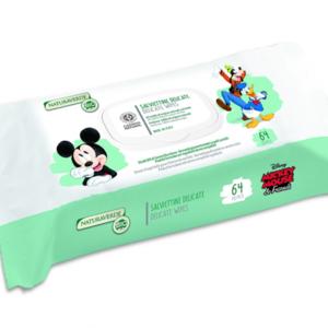 Vochtige Doekjes Mickey and Friends Bio (Reinigingsdoekjes) 64 stuks