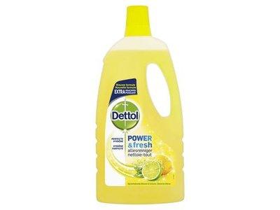 Dettol Power & Fresh Citroen & Limoen Allesreiniger 1000 ml