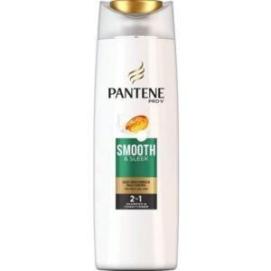 Pantene Shampoo Smooth & Sleek 2 in 1 400 ml