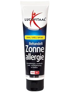 Lucovitaal Zonneallergie Creme SPF30 100 ml