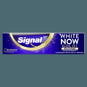Signal White Now Triple Gold Tandpasta 75 ml