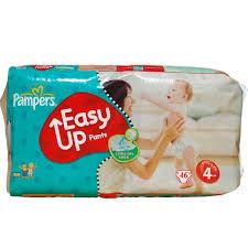 Pampers Easy Up Luierbroekjes Maat 4 maxi - 46 Stuks (Baby Dry Pants)
