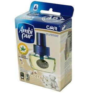 Ambi Pur Auto Luchtverfrisser Cotton Navul 8 ml