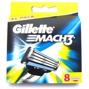 Gillette Mach3 scheermesjes (8st.)