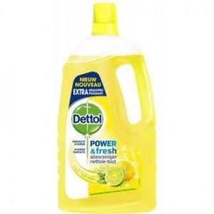 Dettol Power & Fresh Citroen & Limoen Allesreiniger 1500 ml