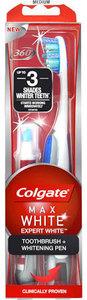 Colgate Tandenborstel  Expert White + Whitening Pen