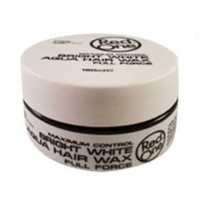 RedOne Haarwax Bright White Aqua Hair Wax Full Force 150ml