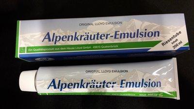 Lloyd Alpenkräuter Emulsion 200 ml (Alpenkruiden balsem/balsam)