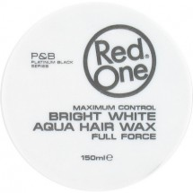 RedOne Haarwax Bright White Aqua Hair Wax Full Force 150ml