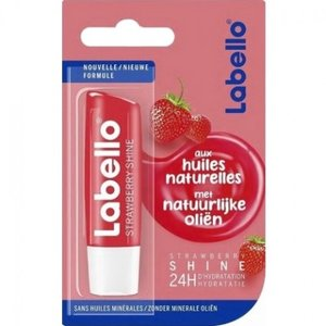 Labello Strawberry Shine Verzorgende Lippenbalsem