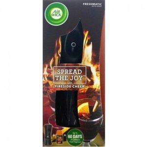 Airwick Freshmatic Max Houder + Navulling Spread the Joy Fireside Cheer Navul 250 ml